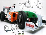 Indy Racecar Jigsaw Game Online