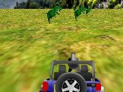 Jeep Dino Hunter Game Online