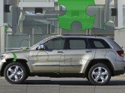Jeep Grand Cherokee Puzzle Game Online