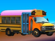 Pimp my School Bus Game Online