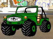 Sweet Jeep Parking Game Online